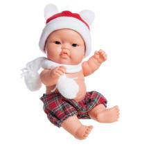 Рождественский пупс Лукас, азиат, 22 см