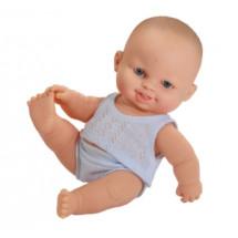 Пупс Томи в голубой пижаме, 22 см
