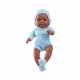 Кукла Бэби в голубом, мулат, 45 см