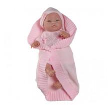 Кукла Бэби с розовым комплектом, 45 см