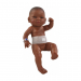 Кукла Бэби с повязкой, мулатка, 45 см