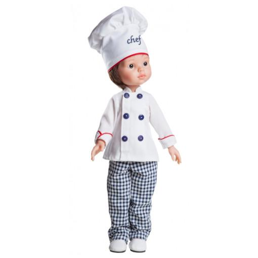 Кукла Карлос — повар, 32 см