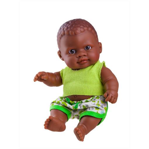 Кукла-пупс Ольмо, мулат, 22 см