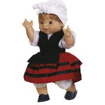 Кукла-пупс басконка, 21 см