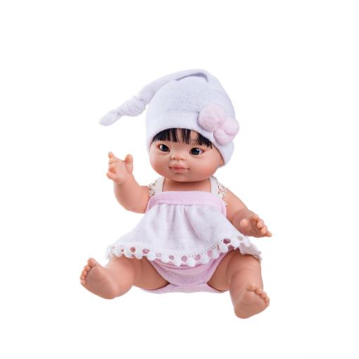 Кукла Флора, азиатка, 21 см