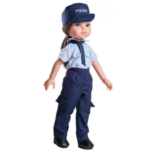 Кукла Кэрол — полицейский, 32 см