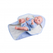 Кукла Бэби в голубом, 36 см