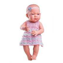 Кукла Бэби в розовом платье, 36 см
