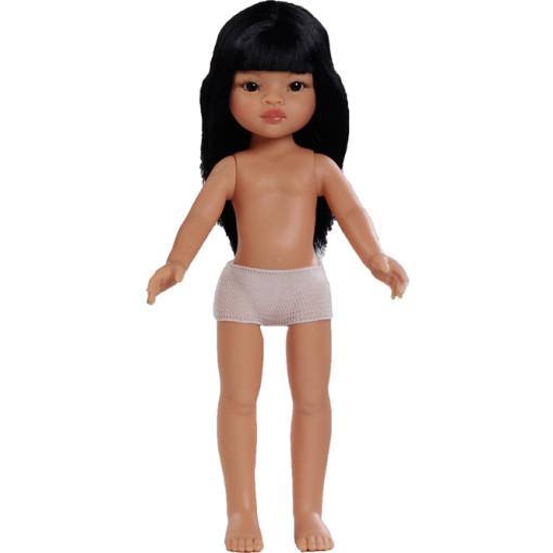 Кукла без одежды Лиу, с челкой, 32 см