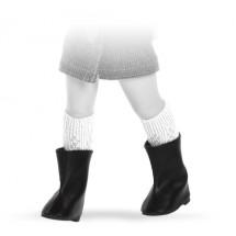 Сапоги черные для кукол 32 см
