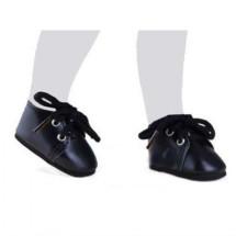 Ботинки черные для кукол 32 см