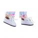 Ботинки белые для кукол 32 см