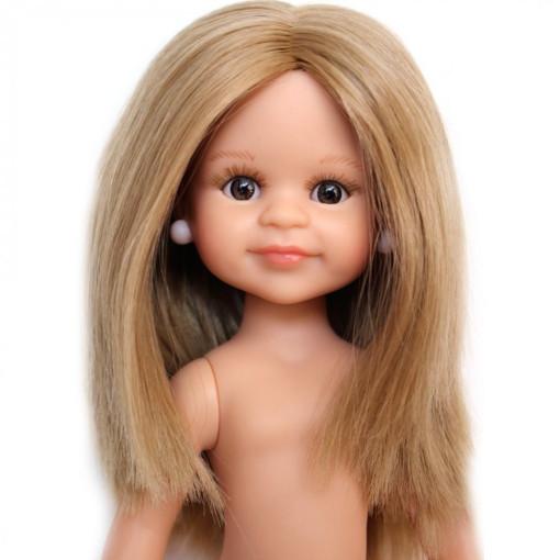 Кукла Клео с карими глазами, без одежды, 32 см