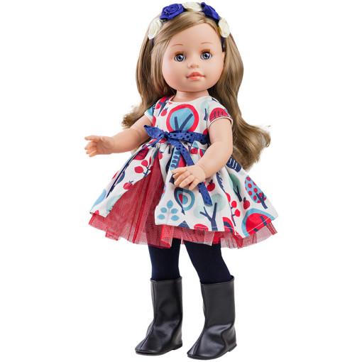 Кукла Soy Tu Эмма с венком, 42 см