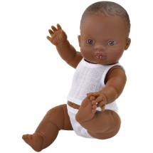 Кукла Горди в нижнем белье, мулат, 34 см