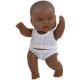 Кукла-пупс 22 см, мулатка