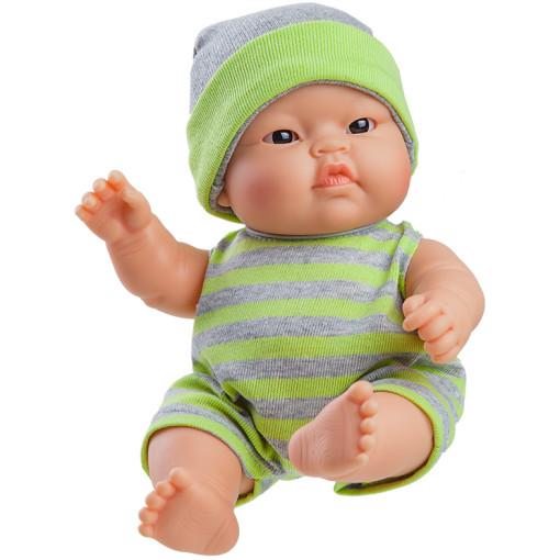 Кукла-пупс Лукас в зелёном, азиат, 22 см