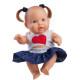 Кукла-пупс Грета, 22 см, в синей юбке