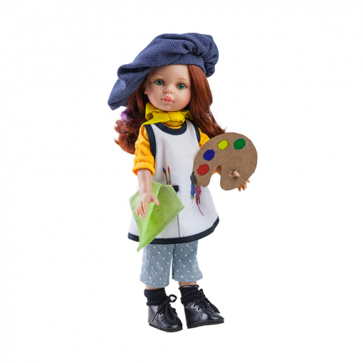 Костюм художницы для кукол 32 см