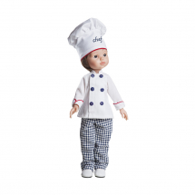 Одежда для куклы Карлос — повар, 32 см