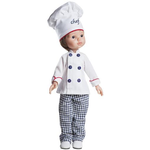 Костюм повара для кукол 32 см