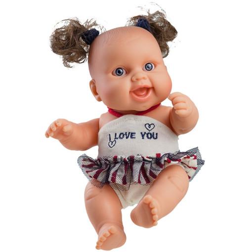 Кукла-пупс «Я тебя люблю» Берта, 22 см