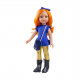 Одежда костюм с золотыми лосинами для куклы Карина, 32 см