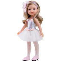 Сверкающий наряд балерины для кукол 32 см