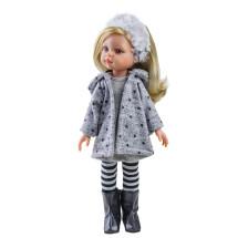 Одежда серая со звёздами для куклы Клаудиа, 32 см