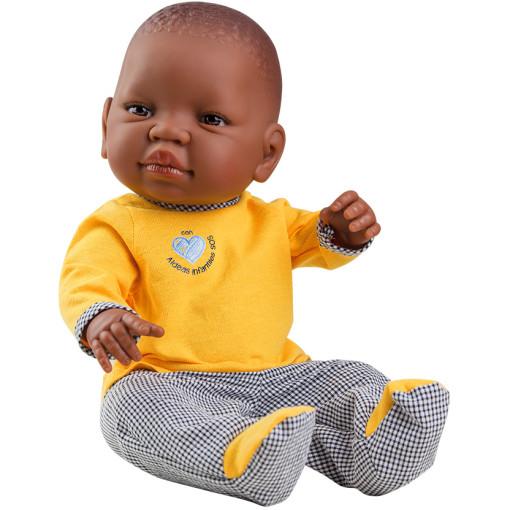 Кукла Бэби, мулат, 45 см