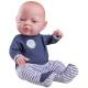 Кукла Бэби в синих ползунках, 45 см, мальчик
