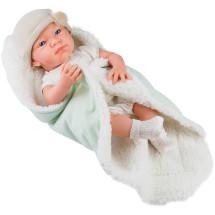 Кукла Бэби с одеяльцем, салатовый, 36 см