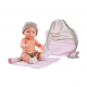 Кукла Бэби с рюкзаком и одеяльцем, 32 см, розовый