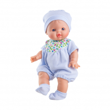 Одежда голубой комбинезон для куклы Горди, 34 см
