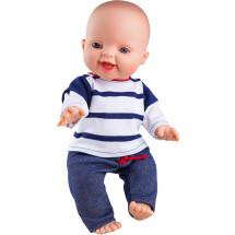 Одежда синяя в полоску для куклы Горди, 34 см