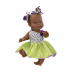 Одежда яркое летнее платье для куклы Горди, 34 см