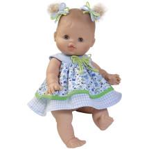 Одежда платье голубое летнее для куклы Горди, 34 см