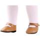 Туфли бежевые, для кукол 60 см