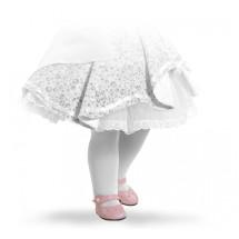 Туфли розовые на липучке, для кукол 60 см