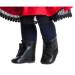 Ботинки черные, для кукол 60 см