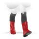 Сапоги красные, для кукол 32 см