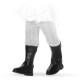 Сапоги модельные черные, для кукол 32 см