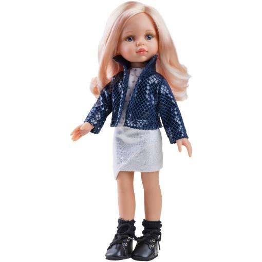 Кукла Карла в блестящем наряде, 32 см