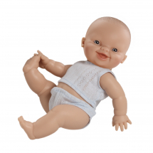 Кукла Горди в синем нижнем белье, мальчик, европеец, 34 см