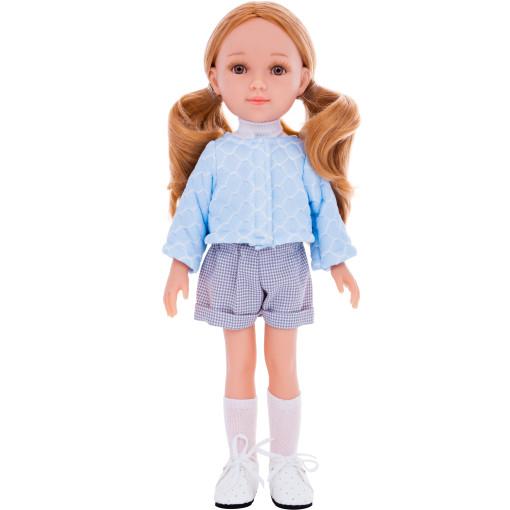 Кукла Марита в голубом кардигане, 32 см
