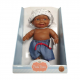 Кукла-пупс Тео, мулат, 22 см