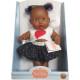 Кукла-пупс Грета, мулатка, 22 см