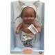 Кукла-пупс Грег, мулат, 22 см