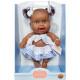 Кукла-пупс Верта, мулатка, 22 см
