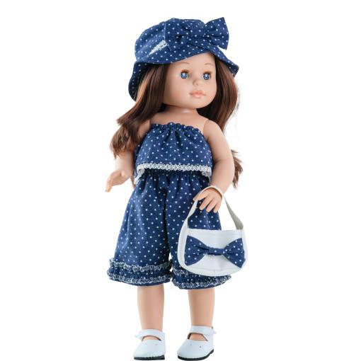 Кукла Soy Tu Эмили в джинсовом комбенизоне, 42 см
